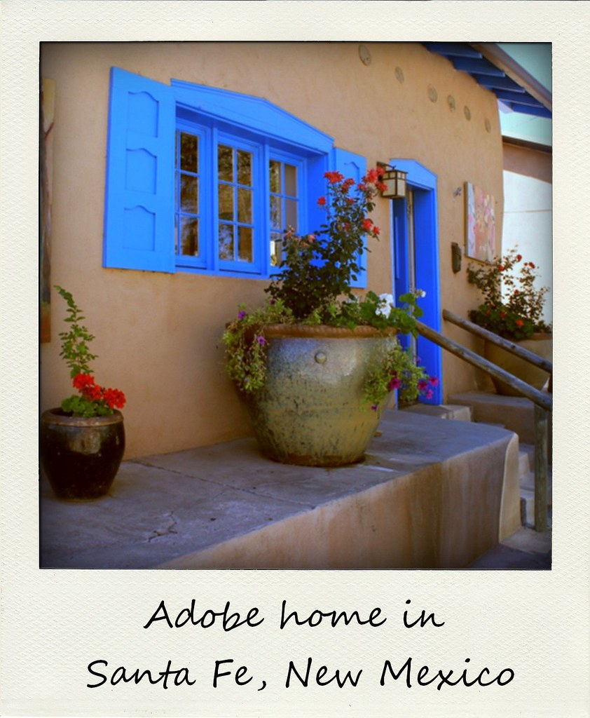 polaroid of the week new mexico santa fe home