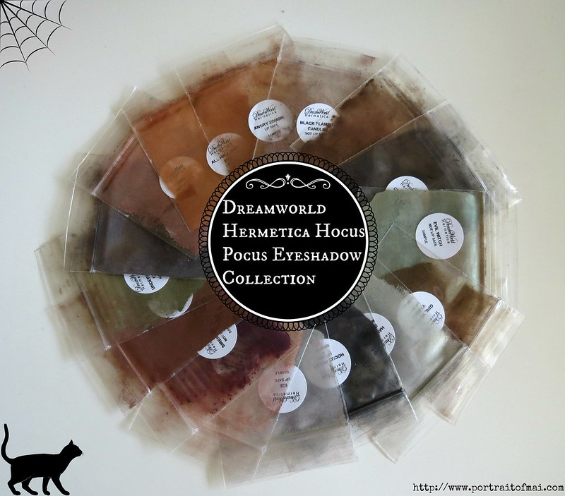 Dreamworld Hermetica Hocus Pocus Eyeshadow Collection