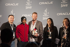 Duke's Choice Awards Ceremony, Taylor Street Cafe, JavaOne 2013 San Francisco