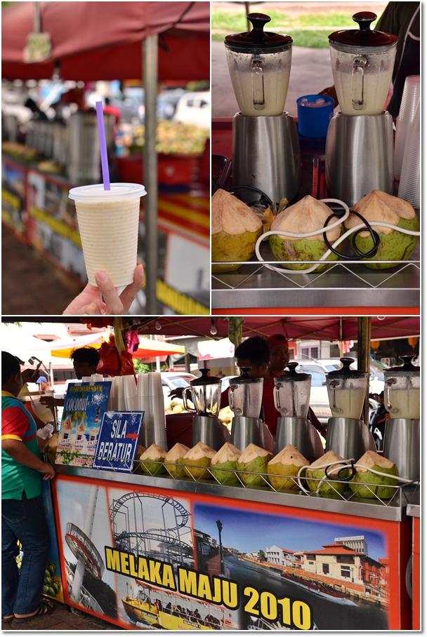 Melaka Batu Berendam Coconut Shake