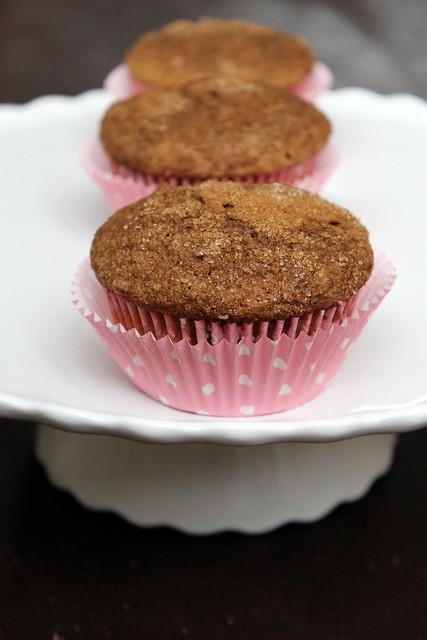 Snickerdoodle Muffins - vegan