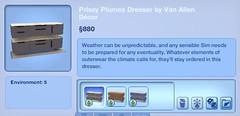 Prissy Plumes Dresser by Van Allen Decor