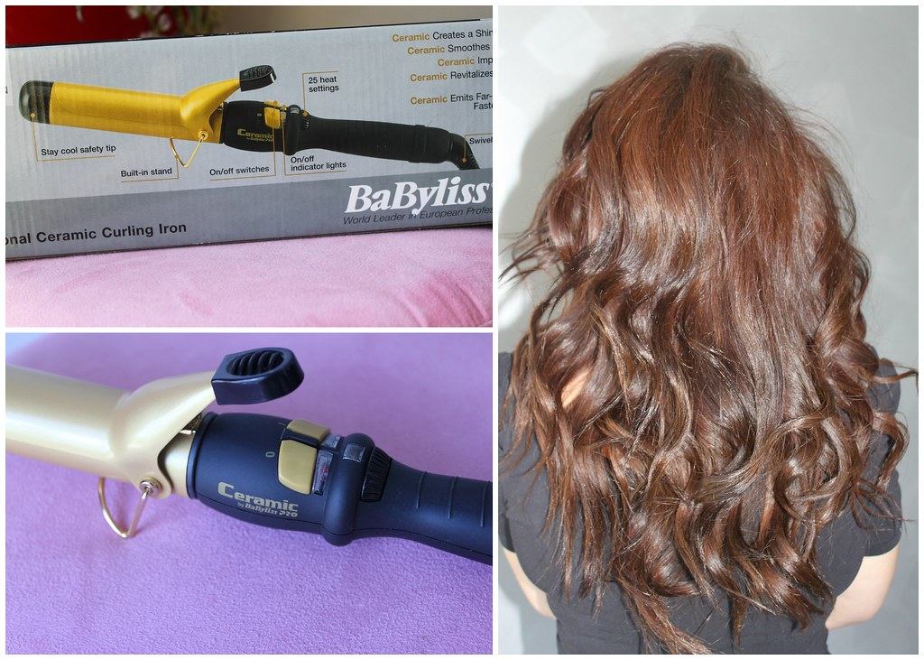 Babyliss Pro 32 mm curling iron review ceramic australian beauty review blog blogger aussie ry recreate yourself  ausbeautyreview