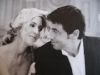 Amanda Sthers en Patrick Bruel, 21 september 2004