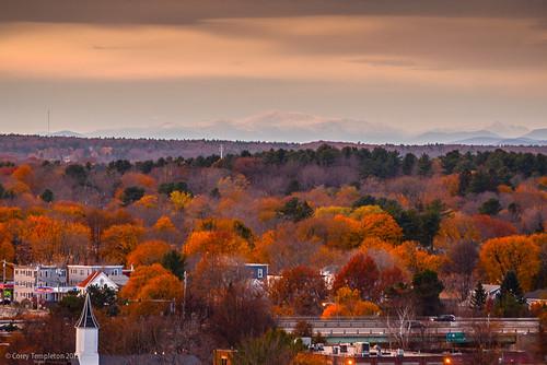 city autumn sunset fall skyline portland washington other nikon mt view unitedstates scenic newengland newhampshire whitemountains mtwashington foliage vista portlandmaine westend d600 westernprom westernpromenade