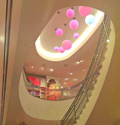 Staircase American Girl San Francisco