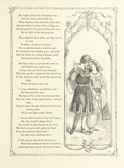 """British Library digitised image from page 123 of """"Poems and Pictures: a collection of ballads, songs, and other poems"""""""