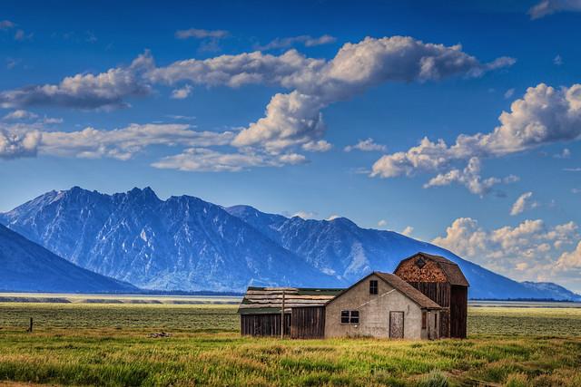 Barns at the End of Mormon Row, Grand Teton National Park