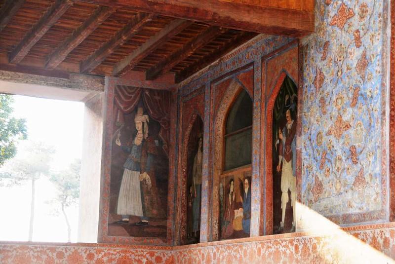 64  Palacio de Chehel Sotun o de las 40 columnas en Isfahan (27)