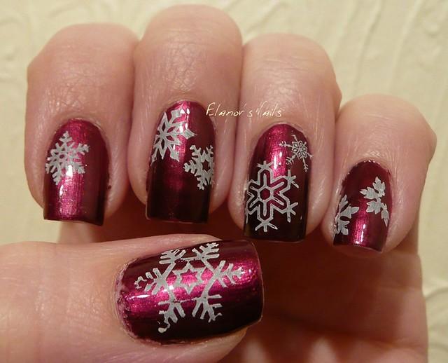 snowflake stamping 1