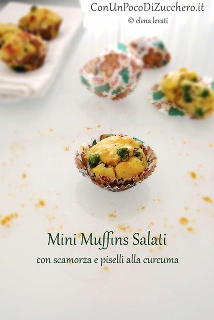Mini Muffins ai piselli