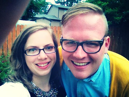 Couples selfie