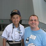 Rocco and Mildred the tour guide, USS Arizona, Oahu
