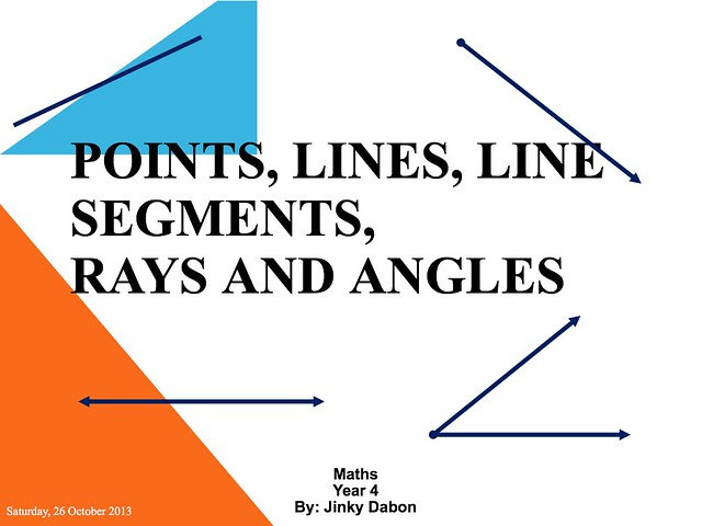 Line Art With Lines And Angles : Points lines line segments rays and angles flickr