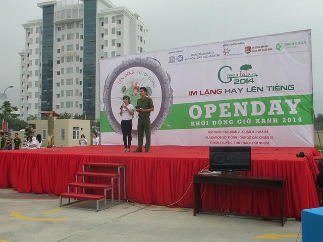 Open Day - Khởi động Giờ Xanh