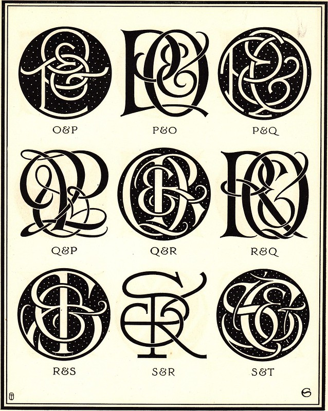 Monograms & Ciphers by AA Turbayne 1912 m