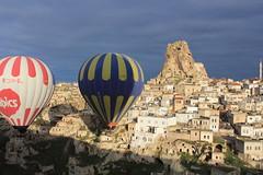 Cappadocia balloon trip, Ortahisar Castle