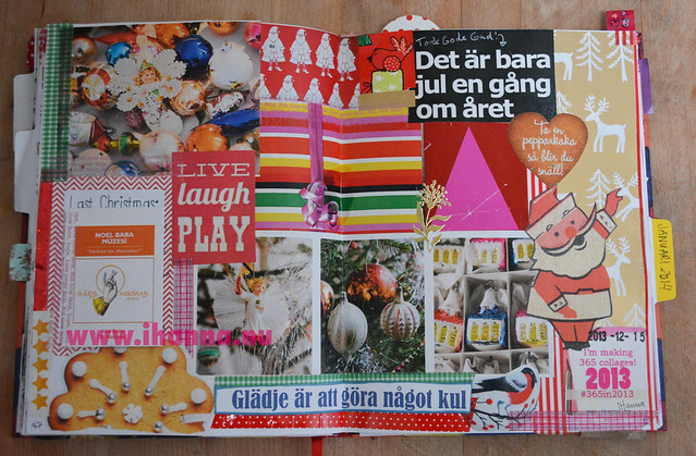 Diary Collage: December Inspiration