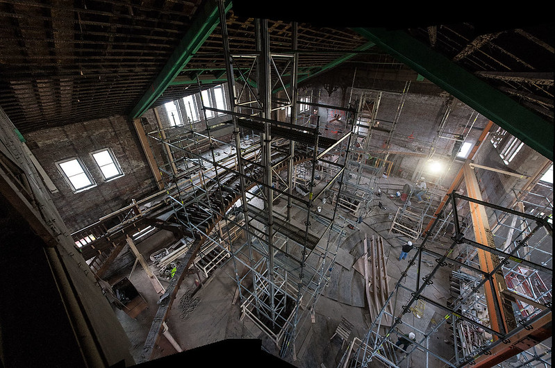 Alumni Hall Renovation Update - January 2014
