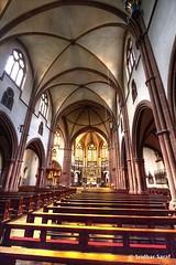 St. Peter's Catholic Parish Church, Heppenheim (Germany) - July 2013