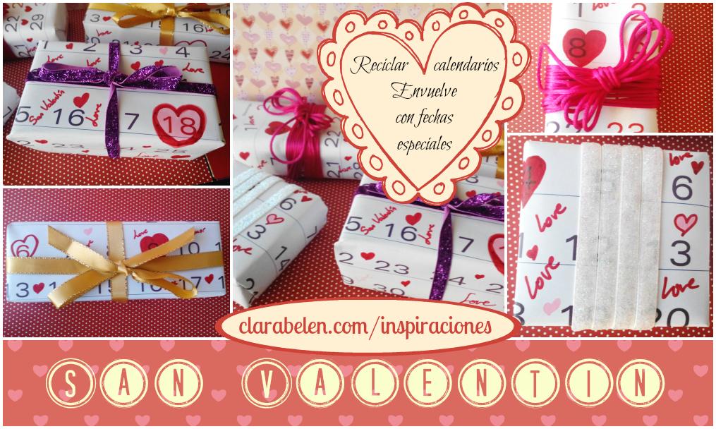 Inspiraciones manualidades y reciclaje envolver regalos - Regalos especiales para san valentin ...