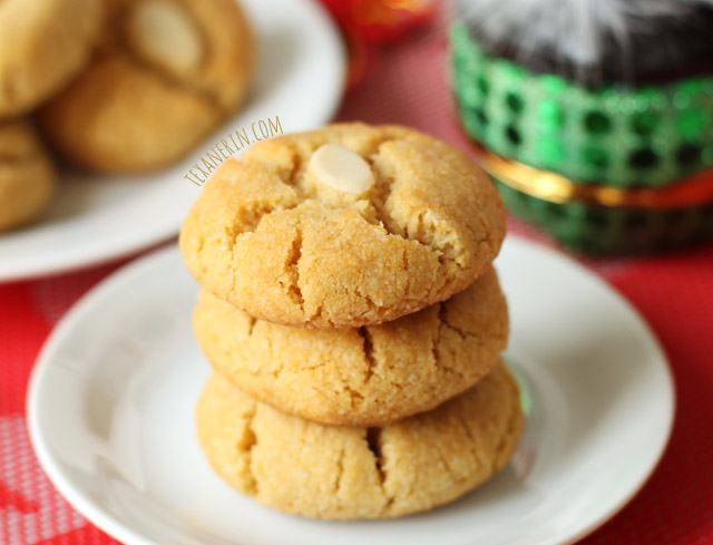 Chinese almond cookies recipe easy - Food baskets recipes