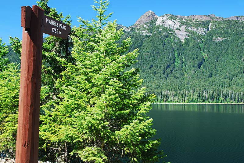 Marble Peak, Strathcona Provincial Park, Central Vancouver Island, British Columbia, Canada