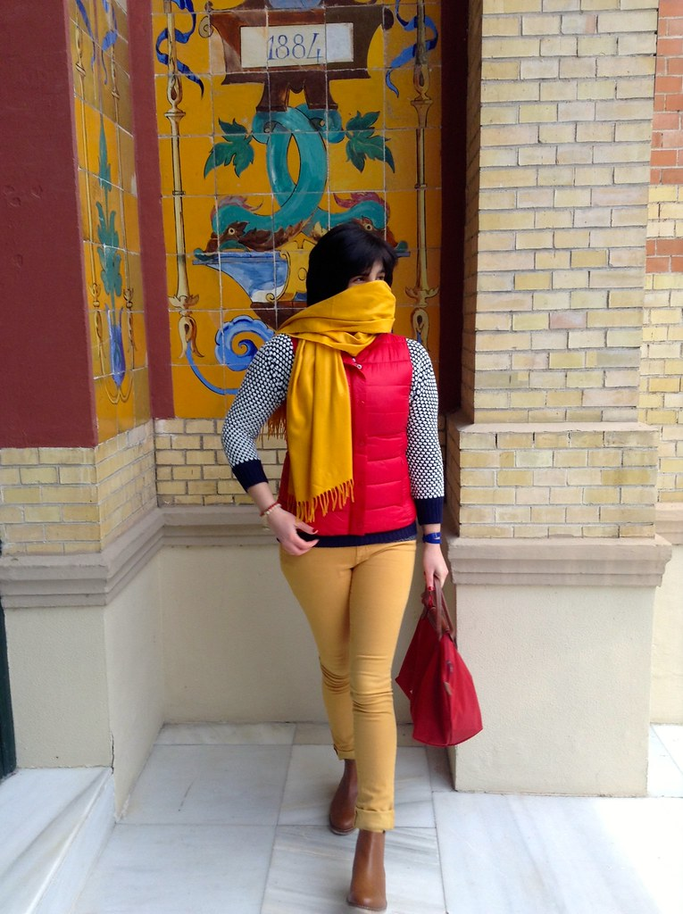 IMG_Palacio de Velázquez - Parque del Buen Retiro - Madrid - España: Outfit of the Day (OOTD)