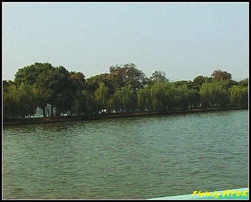杭州 西湖 (其他景點) - 359 (西湖 湖上遊 往湖心亭 這裡是蘇堤)