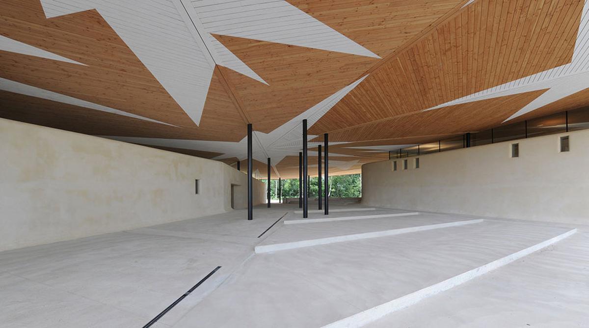 Welkenraedt Funeral Centre design by Dethier Architecture