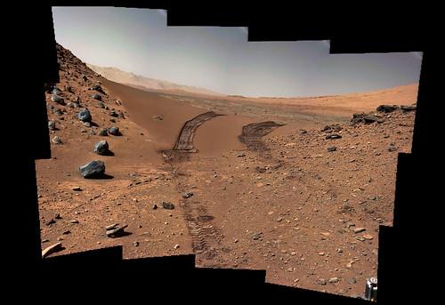 Curiosity sol 538 MastCam