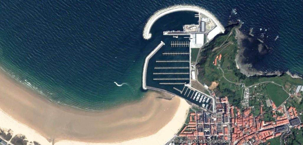 después, urbanismo, foto aérea,desastre, urbanístico, planeamiento, urbano, construcción,puerto de Laredo, Laredo, Cantabria