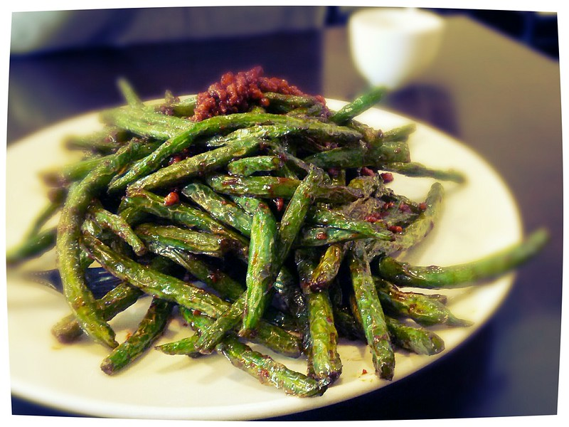 #121 Minced Pork with Green Beans (干扁四季豆) @ Delicious Country
