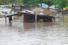 The Jangwani slum in Dar es Salaam, Tanzania, was flooded during the heavy rain at the end of 2013 and early this year. Credit: Muhidin Issa Michuzi/IPS