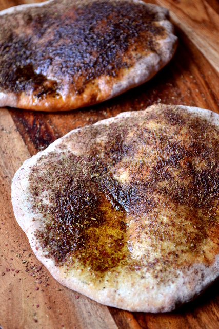 Za'atar Flatbread Recipe (4)