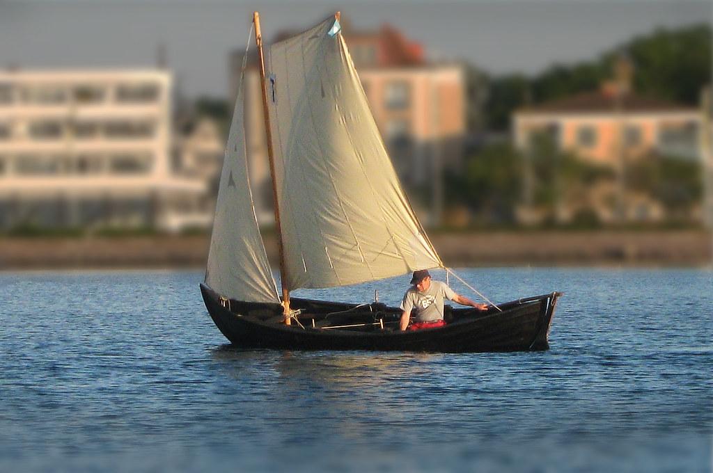 Johan sailing