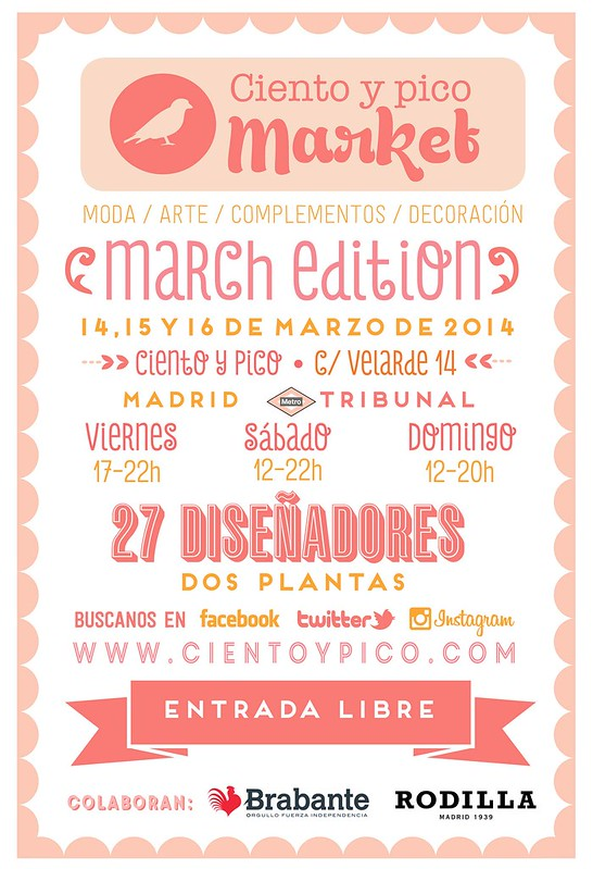 Ciento y Pico Market March Edition