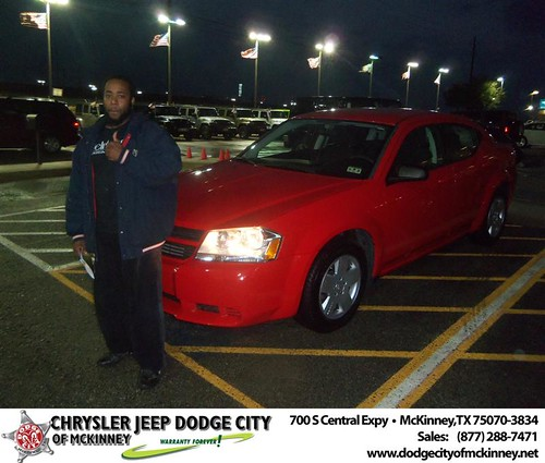 Happy Anniversary to Matthew Johnson on your 2009 #Dodge #Avenger from Henry  Adologiogie  and everyone at Dodge City of McKinney! #Anniversary by Dodge City McKinney Texas
