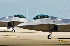 lockheed martin f-22 raptor, aviation, airplane, wing, vehicle, fighter aircraft, jet aircraft, air force,
