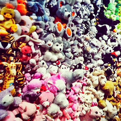 Toutous à gogo #mtl #montreal #quebec #museum #mbamtl #peluches #ty #downtown #expo