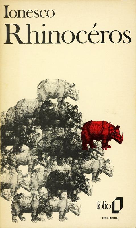 Collection Folio 100 - Eugène Ionesco - Rhinocéros