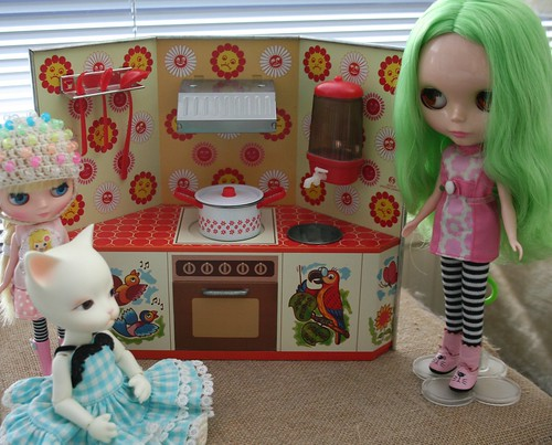 Doll kitchen