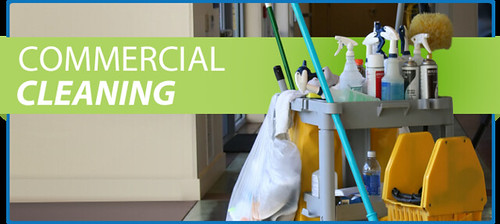 Commercial cleaning, cleaning-cart-commercial-cleaning