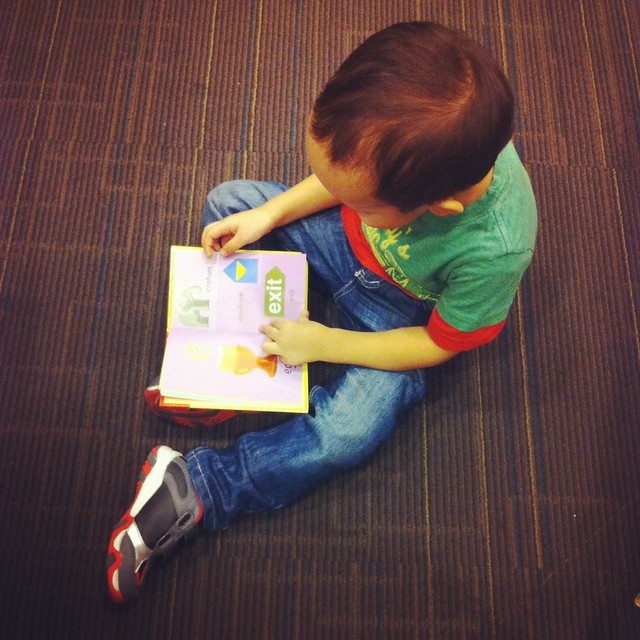 Raising a bookworm