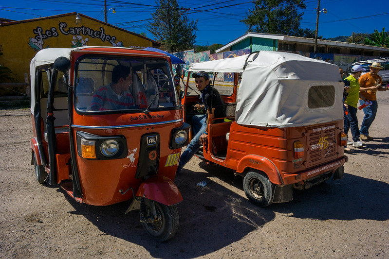 Mototaxi Valle De Angeles, Honduras