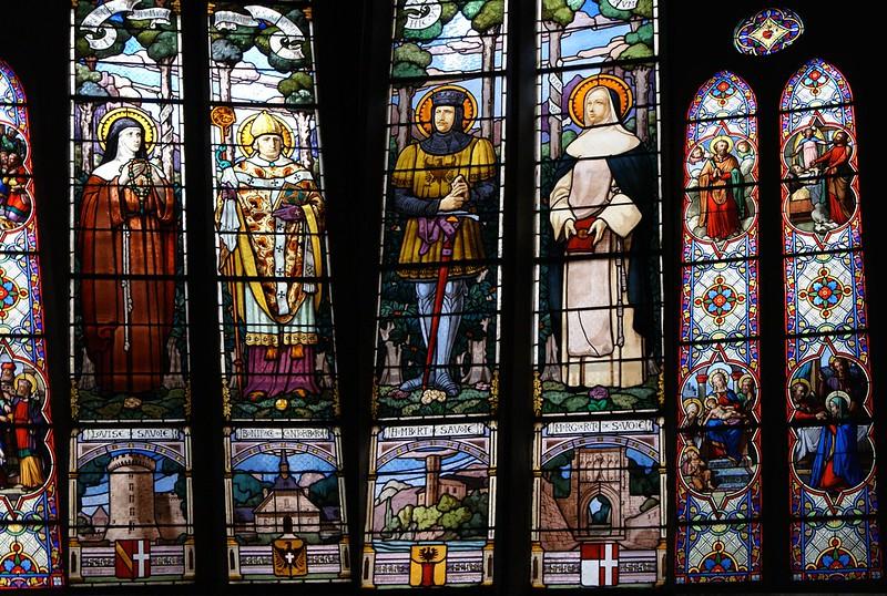 Vitraux de la cathédrale Saint-François-de-Sales