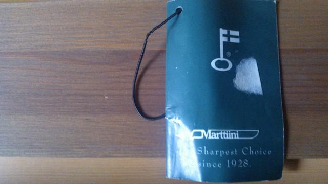 Etiqueta de Martiini