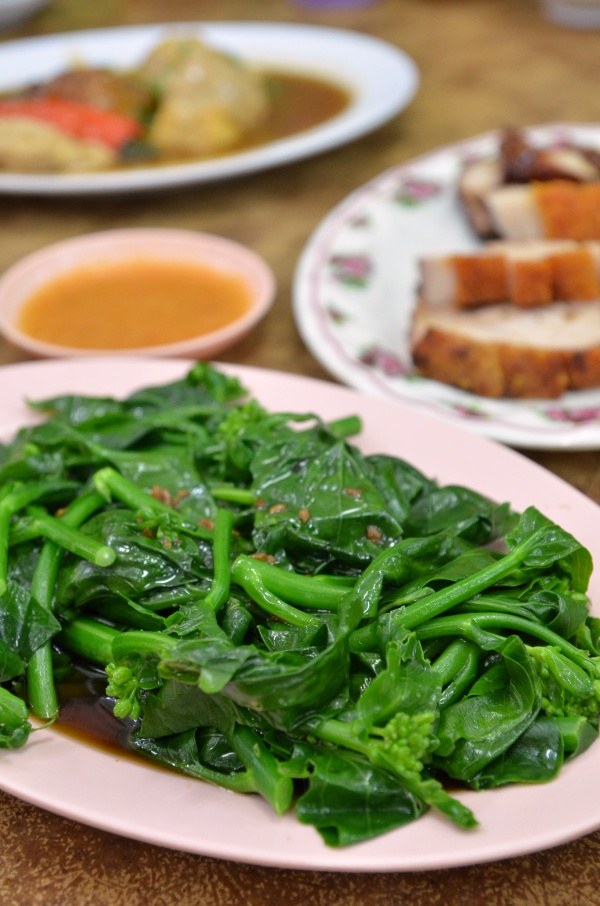 Stir Fried Kai Lan Miu