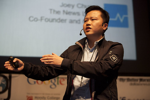 Chung (The News Lens). ISOJ 2014. Journalism Star Startups.