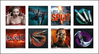 free Blade 50 Line slot game symbols